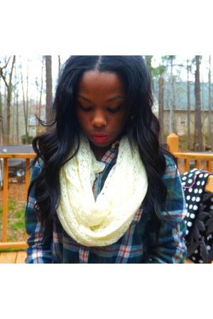 ambercrombie shirt - Rue 21 scarf