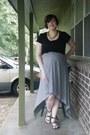 Heather-gray-diy-dress-green-ebay-necklace-black-maternity-target-t-shirt