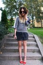 Knitted-bzr-sweater-clutch-alexander-wang-bag-iro-skirt-zara-pumps
