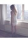 White-lipsy-dress-charcoal-gray-nastygal-wedges