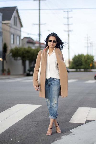 prisma tote Alexander Wang bag - boyfriend Current Elliott jeans