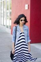 Sweet & Spark bracelet - striped maxi ALC dress