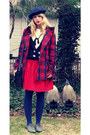 Charcoal-gray-oxfords-bdg-shoes-red-plaid-modcloth-coat-navy-sailor-forever-
