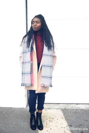 etam boots - Pimkie jeans - inspiration Promod blouse - etam top