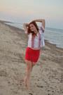 Vintage-shirt-bershka-skirt