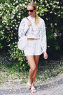White-h-m-sweater-white-h-m-bag-white-h-m-shorts-white-h-m-flats
