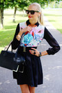Light-blue-persunmall-blouse-black-h-m-bag-black-new-yorker-skirt