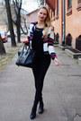 Black-h-m-jeans-white-blackfive-blazer-black-ebay-bag