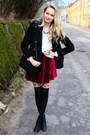 Black-h-m-boots-black-primark-coat-white-h-m-sweater-black-foymall-tights