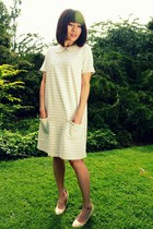 cream striped Wood Wood dress - ivory CrossWoodStore accessories
