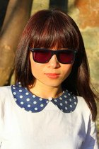 polka dot denim CrossWoodStore accessories