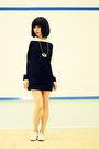 Black-t-shirt-dress-crosswoodstore-dress