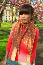 Polka Dots CrossWoodStore Scarves