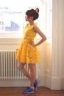 Light-yellow-sunflower-crosswoodstore-hair-accessory