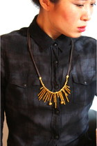 Gold CrossWoodStore Necklaces