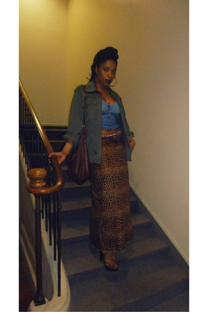 navy vlisco skirt - charcoal gray cotton none jacket