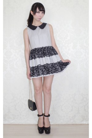 gray dress LillianOtto dress