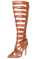 Nataly Gladiator Heels - Brown