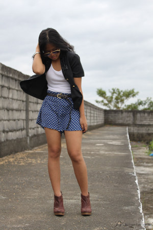 polka dot bought online shorts - ankle People are People Syrup boots