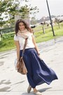 Wool-random-scarf-american-eagle-bag-seven-seven-skirt-tennis-blouse
