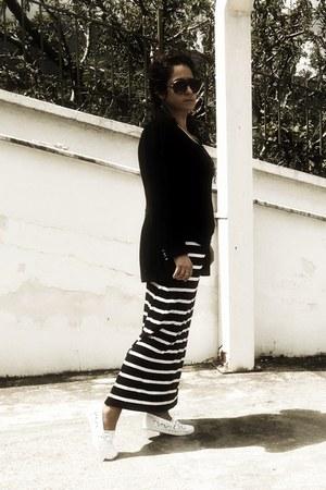 black adel greek brand blazer