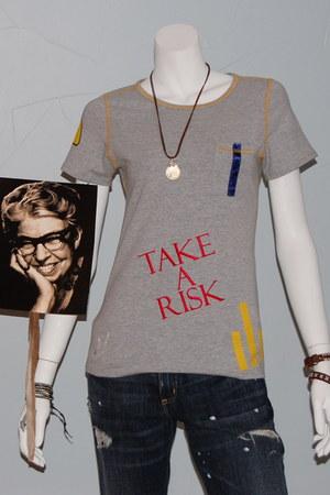 organic  lycra Baronbleu t-shirt
