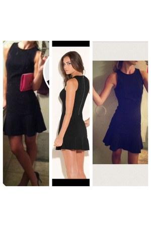 black Guess dress - black dress - black Guess dress