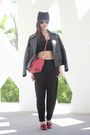 Black-leather-eudon-choi-jacket-red-valentino-bag-black-baggy-zara-pants