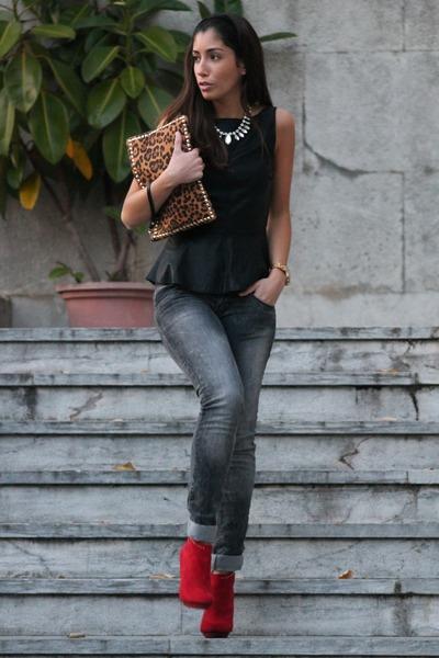 Zara top - Zara shoes - BLANCO bag