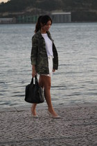Zara shoes - Zara jacket - Alexander Wang bag - Zara shorts - Zara t-shirt