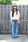 Cream-free-people-earrings-light-blue-7-for-all-mankind-jeans