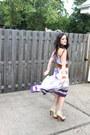 Deep-purple-free-people-dress-eggshell-shoedazzle-heels-brown-express-belt