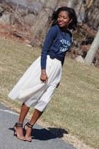 eggshell Ebay skirt