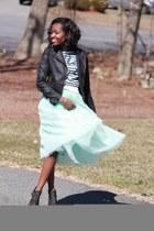 green Ebay skirt