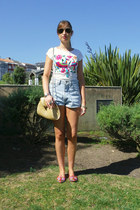 suiteblanco bag - Wrangler shorts - Mango top