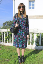 Bimba & Lola dress - & other stories bag - Massimo Dutti clogs