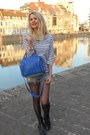 Black-ikks-boots-navy-alexander-wang-bag-blue-etam-t-shirt