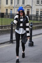 new look jumper - Topshop jeans - Ebay hat