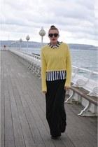 H&M shirt - Topshop dress - Topshop jumper