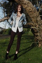 Ruby Shoes boots - cotton on jeans - Primark jacket - new look shirt