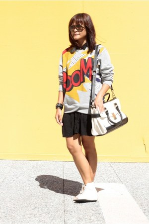 Egocloset dress - Phillip Lim for Target sweater - Jason Wu for Target bag