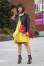 Bcbg-maxazria-dress-h-m-jacket-margiela-for-h-m-bag