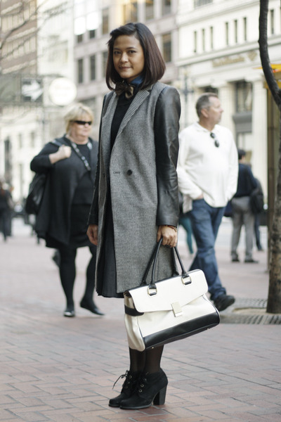 Zara coat - Jason Wu for Target bag