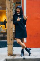 Report shoes - Zara dress - Blue Nile ring
