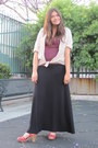 H-m-shirt-express-skirt-american-apparel-blouse-wood-sole-aldo-clogs