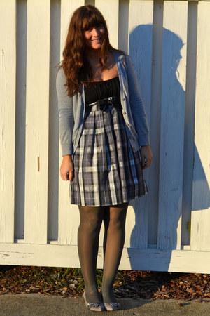 gray Audrey Brooke shoes - charcoal gray Macys dress
