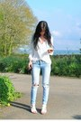 Sky-blue-primark-jeans-white-primark-blouse-white-new-look-sandals