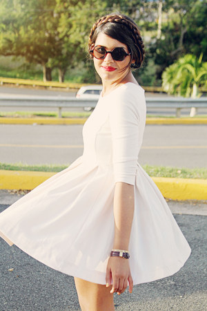 sunglasses - H&M dress