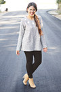 Camel-ankle-boots-white-oversized-zara-sweater-black-zara-leggings