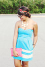 Sky-blue-zara-dress